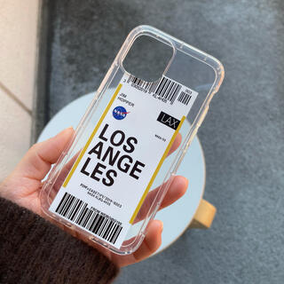 ドゥーズィエムクラス(DEUXIEME CLASSE)のiPhone12 mini ケース スマホカバー クリア 透明 ロサンゼルス(iPhoneケース)