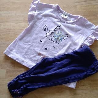 アナスイミニ(ANNA SUI mini)の赤ちゃん本舗 アナスイミニ ベビー服上下まとめ売り 70 80(Tシャツ)
