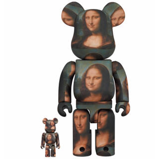 メディコムトイ(MEDICOM TOY)の現物あり!BE@RBRICK ダヴィンチ Mona Lisa 100%&400%(キャラクターグッズ)