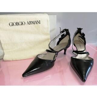 ジョルジオアルマーニ(Giorgio Armani)の超美品‼️ジョルジオ アルマーニパンプス 32210212(ハイヒール/パンプス)