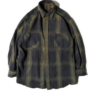 RRL - 90's ST JOHN'S BAY チェックシャツ ビンテージ