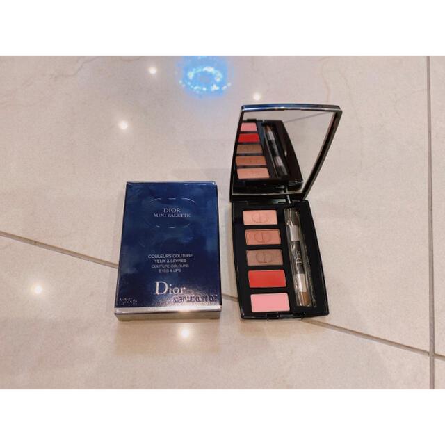 Dior(ディオール)の新品未使用 ディオール ミニパレット コスメ/美容のキット/セット(コフレ/メイクアップセット)の商品写真