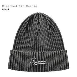 シュプリーム(Supreme)のsupreme Bleached Rib Beanie (ニット帽/ビーニー)