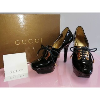 グッチ(Gucci)の超美品‼️GUCCI グッチヒールパンプス 44210211(ハイヒール/パンプス)
