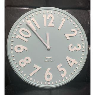 イデアインターナショナル(I.D.E.A international)のBRUNO エンボスウォールクロック ライトブルー BCW013-LBL (掛時計/柱時計)