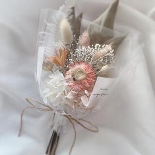 ナチュラル系 ドライフラワー 花束 ブーケ スワッグ ギフト ホワイトデー(ドライフラワー)