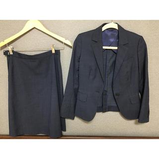 スーツカンパニー(THE SUIT COMPANY)のレディース スカートスーツ ネイビー(スーツ)