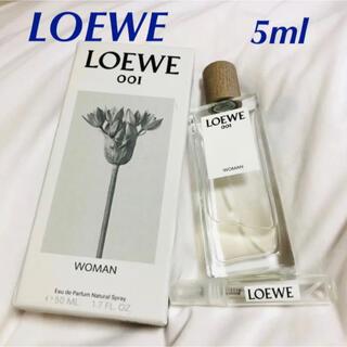 LOEWE - ロエベ LOEWE 香水 ウーマン オードトワレ001 woman 5ml