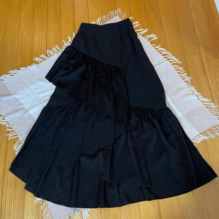 ルネ(René)の【新品】ルネ フリル マーメイド フィッシュテール ロングスカート 36(ロングスカート)
