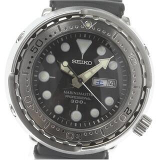 セイコー(SEIKO)のセイコー マリンマスター SBBN017 7C46-0AC0 メンズ 【中古】(腕時計(アナログ))