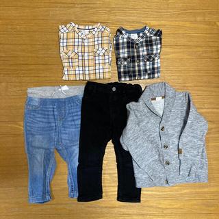 男の子 8点セット 85〜90センチ(Tシャツ/カットソー)