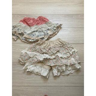 クーラクール(coeur a coeur)のクーラクール スカートズボン 2点セット(スカート)