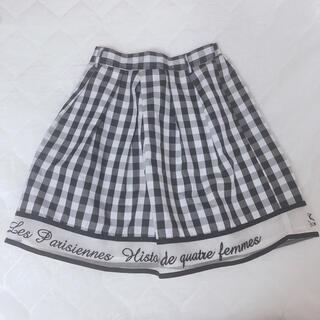 フィント(F i.n.t)のFi.n.t ギンガムチェックロゴスカート(ミニスカート)