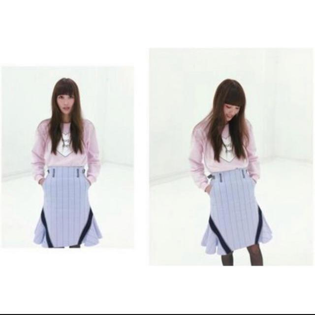 sacai luck(サカイラック)のsacai luck サイドフレアスカート レディースのスカート(ひざ丈スカート)の商品写真