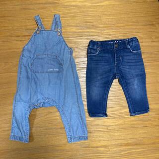 男の子 2点セット 70センチ(Tシャツ/カットソー)