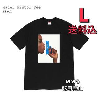 シュプリーム(Supreme)のL Supreme Water Pistol Tee BLACK (Tシャツ/カットソー(半袖/袖なし))