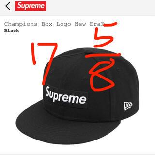 シュプリーム(Supreme)の7 5/8 Supreme Champions Box Logo New(キャップ)