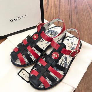 グッチ(Gucci)のグッチチルドレン 新品サンダル 29(サンダル)