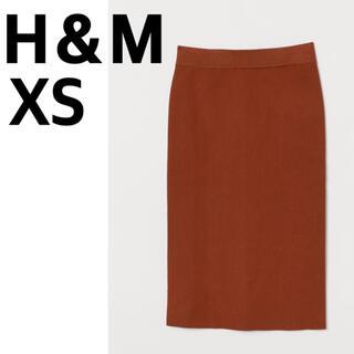 H&M - H&M リブニットペンシルスカート XS
