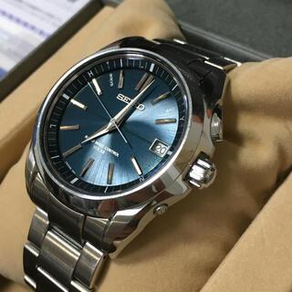 セイコー(SEIKO)の名作 セイコー ブライツ グリーン メンズ 電波ソーラー グランドセイコー(腕時計(アナログ))