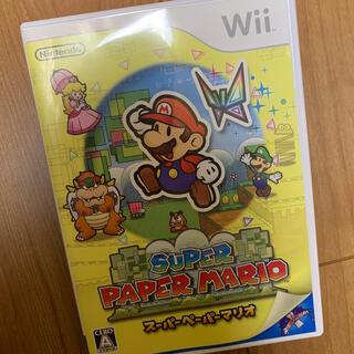 ニンテンドウ(任天堂)のスーパーペーパーマリオ Wii(家庭用ゲームソフト)