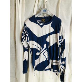 ヴィヴィアンウエストウッド(Vivienne Westwood)のVivienne Westwood アシンメトリーカットソー(Tシャツ/カットソー(七分/長袖))