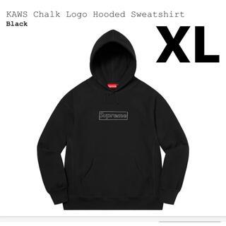 シュプリーム(Supreme)のSupreme KAWS Chalk Logo シュプリーム ボックスロゴ XL(パーカー)