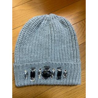 ジーユー(GU)のGU ニット帽 ニットキャップ(ニット帽/ビーニー)