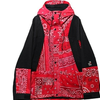 READYMADE Mountain Parka Red 2 BANDANA(マウンテンパーカー)