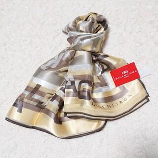 バレンシアガ(Balenciaga)の《未使用》BALENCIAGA  88㎝×88㎝ シルク100% スカーフ(バンダナ/スカーフ)