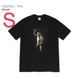 シュプリーム(Supreme)のSupreme Raphael Tee 黒 S(Tシャツ/カットソー(半袖/袖なし))