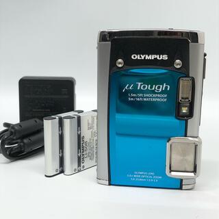 OLYMPUS - OLYMPUS 防水デジタルカメラ μ TOUGH 6020 ブルー