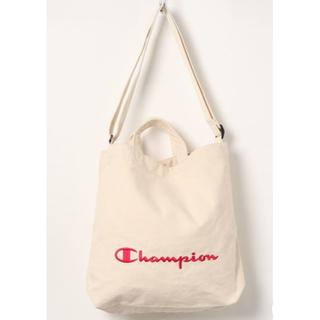 チャンピオン(Champion)の【未使用タグ付】Championチャンピオン コットンキャンバストートバッグ(トートバッグ)