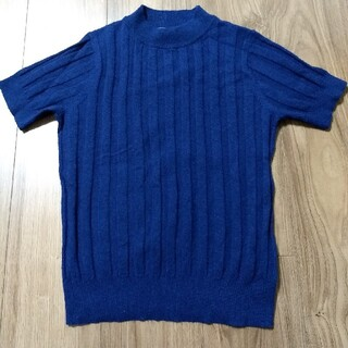 ドゥアルシーヴ(Doux archives)の半袖リブニット(Tシャツ(半袖/袖なし))