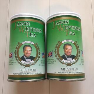 ジェイソンウィンターズティー緑茶2本セット(113.6g×2)(健康茶)