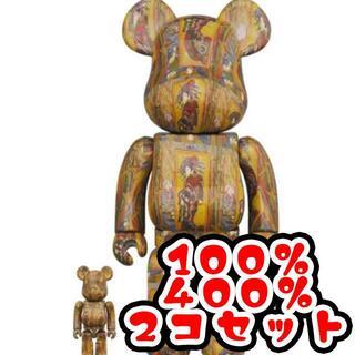 メディコムトイ(MEDICOM TOY)のBE@RBRICK Van Gogh Museum 400% 100%(その他)