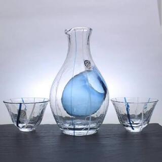 トウヨウササキガラス(東洋佐々木ガラス)の佐々木ガラス 冷酒セット ★新品未開封★(グラス/カップ)