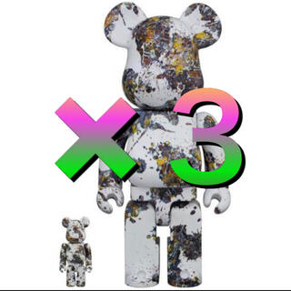 メディコムトイ(MEDICOM TOY)のBE@RBRICK Jackson Pollock Studio(SPLASH)(フィギュア)