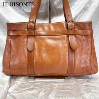 イルビゾンテ(IL BISONTE)のイルビゾンテ ハンドバッグ トートバッグ ベルト 鞄 レディース レザー 革(ハンドバッグ)
