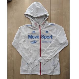 デサント(DESCENTE)の【美品】DESCENTE MoveSport 白 レディースO(XL)(その他)
