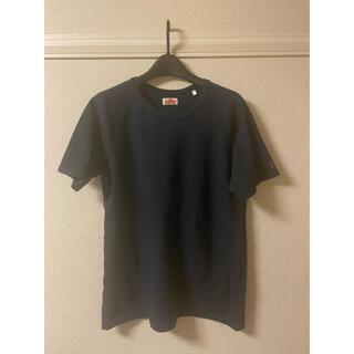 ハリウッドランチマーケット(HOLLYWOOD RANCH MARKET)のハリウッド ランチ マーケット カットソー Tシャツ 半袖 ラグラン 紺 4(Tシャツ/カットソー(半袖/袖なし))