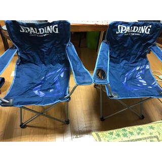 SPALDING - キャプテンスタッグ スポルディング 椅子 ラウンジチェアー
