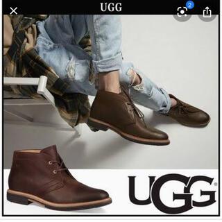 UGG - UGG US7 25cm レザー ブーツ ✨新品✨