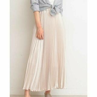 PROPORTION BODY DRESSING - プロポーションボディドレッシング プリーツサテンスカート