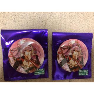 マクロス(macros)のオシャレマクロス10 缶バッジ ミクモギンヌメール(キャラクターグッズ)