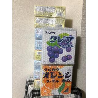 マルカワ マーブルガム 10箱セット グレープ オレンジ(菓子/デザート)