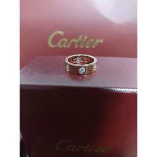 Cartier - カルティエ ラブリング ハーフダイヤ