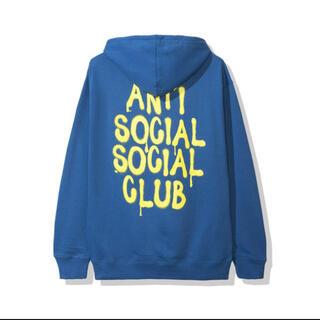 アンチ(ANTI)の新品未開封 ASSC アンチソーシャルソーシャルクラブ パーカー XL 19AW(パーカー)
