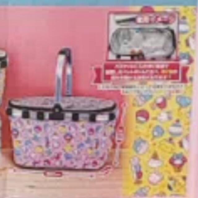 サンリオ(サンリオ)のサンリオ保冷バッグ インテリア/住まい/日用品のインテリア小物(バスケット/かご)の商品写真
