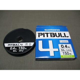 SHIMANO - シマノ ピットブル PIT BULL 4 0.4号 150m